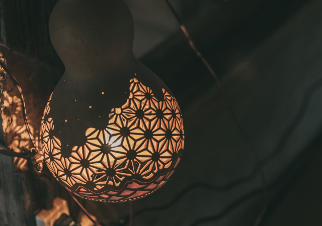 ひょうたんランプのこと